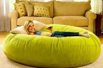 Ghế lười Omely Bean Bag   Giường tròn hiện đại