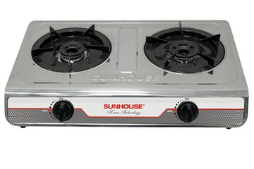 bếp gas đôi sunhouse mặt inox SHB2012 I