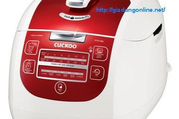 Nồi cơm áp suất điện tử Cuckoo CRP G1015M đỏ