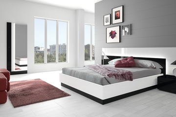 MSP : QH 01 Giường ngủ kiểu hiện đại