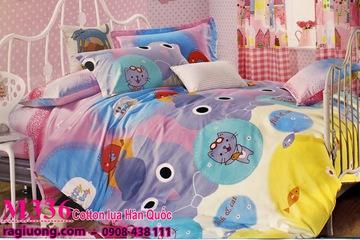 Drap giường hình thú cực teen