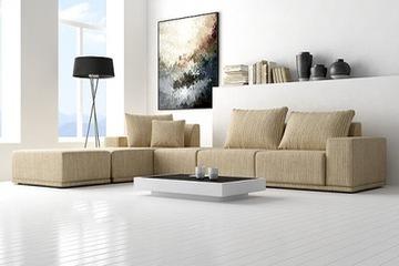 sofa nỉ cỏ may   hàng đẹp   giá rẻ