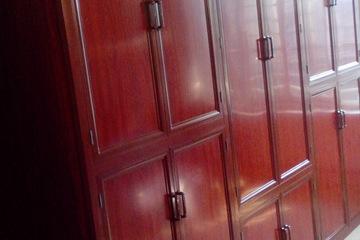 Tủ nhôm vân gỗ cao cấp