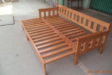SOFA giường đẹp, sofa Gỗ giường đa năng 3 in 1 giá rẻ