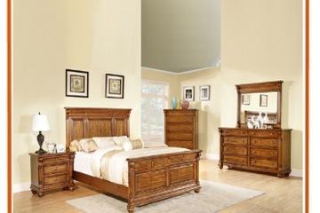 bộ phòng cổ điển   set 5 món màu nâu