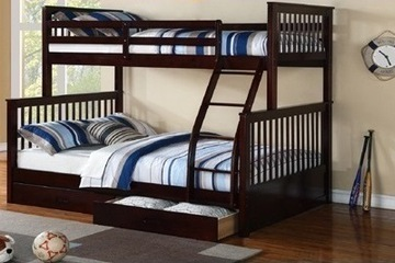 Giường tâng cao cấp làm từ gỗ thông Newzealand..