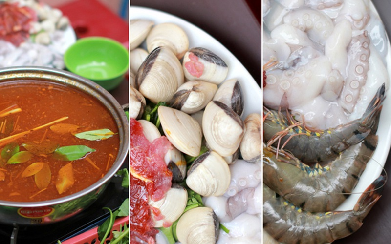 Lẩu Thái chua cay - hấp dẫn khó cưỡng...