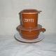 Cốc lọc chè, cốc cafe phin sứ Gốm sứ Bát Tràng.