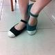 Giày vintage cổ điển và sang trọng.