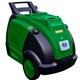 Máy làm sạch bằng hơi nước nóng Optima Steamer chạy Diesel.