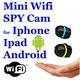 AI Ball Mini Wifi Spy Cam IP Wireless Surveillance Camera.