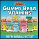 Kẹo Gummy Bear Vitamin,DHA,Cancium cho trẻ.....