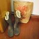 Boots cổ ngắn Mustang, Boots dài Weinbrenner, Giày đế xuồng hở m.