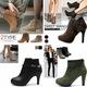 E ẤP MỘT MÙA ĐÔNG Boots Nữ Cao Cổ, Boot nữ hàn quốc, Boot nữ t.