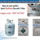 Gas Mỹ Dupont Suva 134a Giá tốt nhất Việt Nam.
