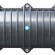 Măng xông quang 2in 2out 12 144 core chất liệu ABS, Kích thước L W D 5.