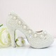 Các thiết kế giày cao gót High Heels với các họa tiết decor hand m.