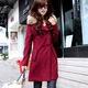 DE : Áo khoác dạ nữ mùa đông phong cách Hàn Quốc năm 2014 có sẵ.