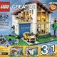 Lego Creator 31012 Ngôi nhà hạnh phúc , 31010 Nhà trên cây, 31025 Nhà t.