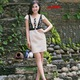 Đầm công sở phối ren Zilandi thời trang.