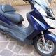 Bán xe máy Burgman 150cc màu xanh.