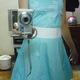 Váy hè xanh.