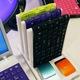 Miếng silicon che bàn phím laptop, giá chỉ: 20K miếng silicon ốp bàn.