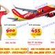 Đại lý bán vé máy bay giá rẻ, khuyến mại Vietjet Air.