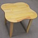Bộ bàn ghế gỗ thông tự nhiên VN, tháo gập được chân 60x60x60cm.