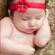 BĂNG ĐÔ BỜM TÓC BABY làm duyên bé xinh xinh.