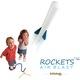 Quà tặng hấp dẫn nhất cho trẻ em: Tên lửa khí nén đạp chân cực kỳ thú vị chỉ có bán Sản Phẩm Sáng Tạo 244 Kim Mã, Hà N.
