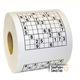 Cuộn giấy vệ sinh chơi giải số Sudoku Chỉ có bán tại cửa hàn.