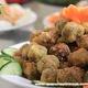 Các món ăn chay chế biến sẵn: súp, cháo, sôi, cơm cỗ chay, bún, .