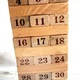 Các loại Đôminô, Rút gỗ,rubic, tangram trí uẩn, bàn tính.