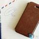 HitechFun Ốp lưng, bao da iPhone 5/5S kiểu dáng sang trọng, đơn giản và lịch lãm.