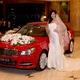 Cho thuê xe đám cưới Mercedes C250 ĐỎ 2013.