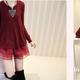 Áo váy thời trang mới nhất mùa đông năm nay Hàng Hàng Châu chất.