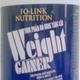 Weight gainer, cung cấp dinh dưỡng và calories đáp ứng nhu cầu thi.