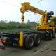 Đại lý bán xe tải Jac 9.9 tấn, 13 tấn, 17 tấn gắn cẩu Soosan 10.