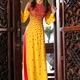 Áo dài cưới mang nét văn hóa truyền thống Việt Nam.