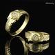 Trang sức SHJ: Nhẫn đôi/ nhẫn cưới theo ý tưởng chiếc đồng hồ.