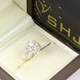 Nhẫn nữ kim cương nhân tạo giá từ 3.5 triệu đồng ảnh chụp thật, không photoshop.