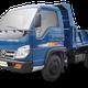 Giá xe ben Trường Hải, xe tải ben trường hải 1 tấn 1.5 tấn, xe .