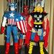 Bán bộ đồ chơi Siêu nhân, Anh hùng Mỹ, Lính đặc nhiệm Mỹ cá.