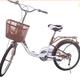 Xe đạp học sinh nữ.