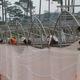 Nhà kính trồng dưa lưới..giá 220.000đ/m2.