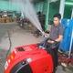 Máy rửa xe hơi nước nóng Optima Steamer, máy rửa xe hơi nước nón.