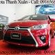 Toyota Thanh Xuân: Toyota Yaris 2015, Giá xe Yaris 2015, Yaris 2015 giá tốt.
