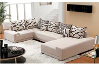 Nội thất cao cấp Luxury Home - Bộ sofa góc nỉ mã GD2075.