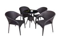 Bộ bàn ghế mây nhựa TF 028.